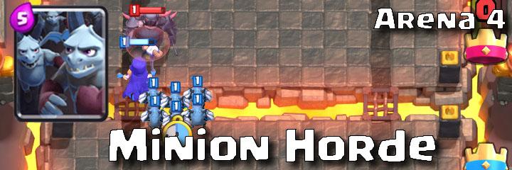 Clash Royale - Arena 4 - Minion Horde