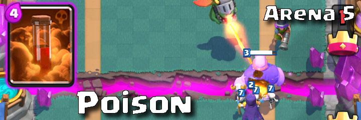 Clash Royale - Arena 5 - Poison