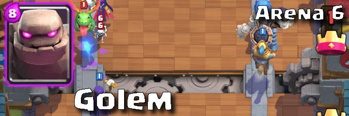 Clash Royale - Arena 6 - Golem
