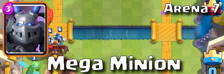Clash Royale - Arena 7 - Mega Minion