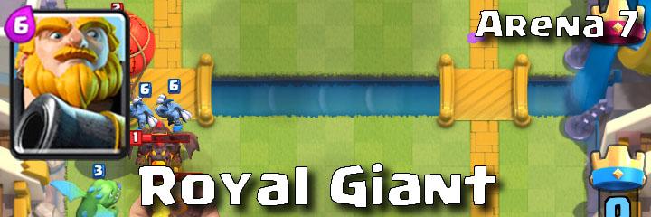Clash Royale - Arena 7 - Royal Giant