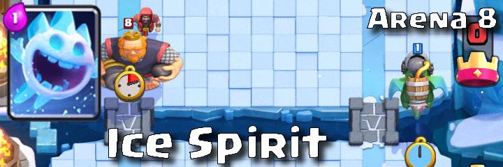 Clash Royale - Arena 8 - Ice Spirit