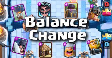 Clash Royale Master Balance Change 19.04.2017
