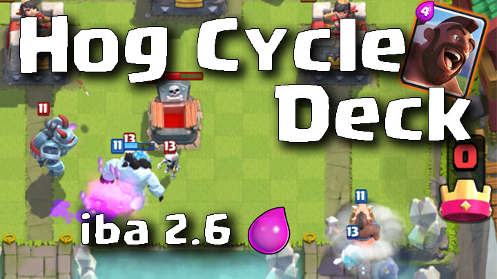 Clash Royale Master Hog Cycle Deck