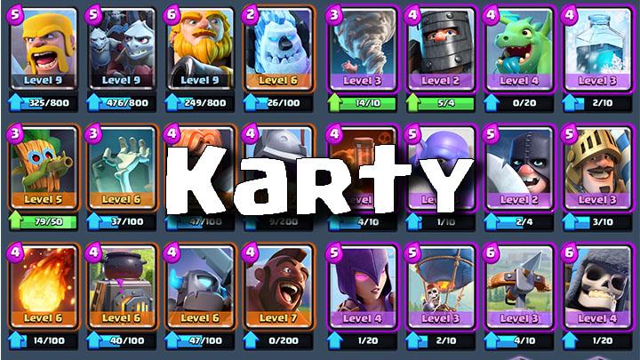 Clash Royale Master Karty
