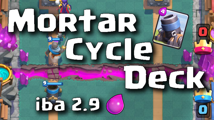 Clash Royale Master Mortar Cycle Deck