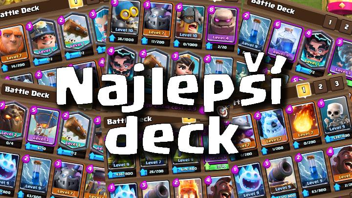 Clash Royale Master Najlepsi Deck