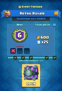 Retro Royale Challenge Finished