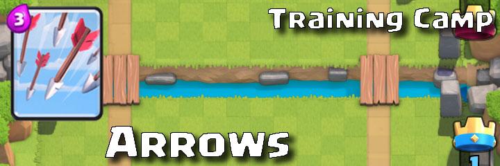 Clash Royale - Training Camp - Arrows