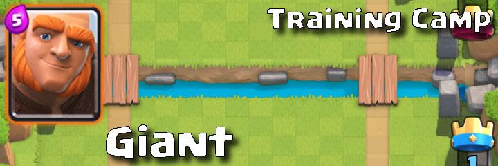 Clash Royale - Training Camp - Giant
