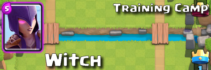 Clash Royale - Training Camp - Witch