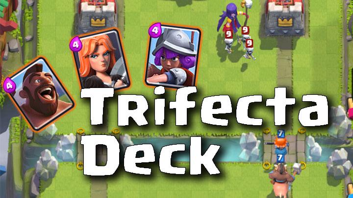 Clash Royale Master Trifecta Deck