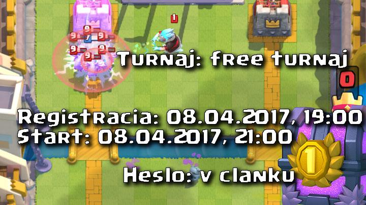 Clash Royale Master Turnaj 08.04.2017