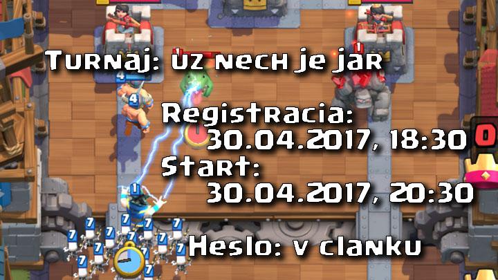 Clash Royale Master Turnaj 30.04.2017