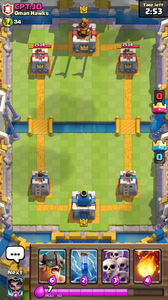 Clash Royale Master - súper s jednou výhrou iba